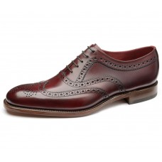 Loake Brogue Style Fearnley Mens Burgundy Shoes (11)