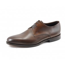 Loake Derby Style Downing Dark Brown Mens Shoes