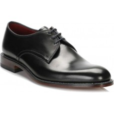Loake Plain Derby Style Drake Black Mens Shoes (12)