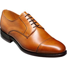 Barker Derby Toe Cap Style Epping Conker Brown Calf Mens Shoes (09)