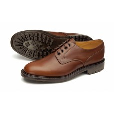 Loake Derby Style Epsom Brown Mens Shoes Sturdy