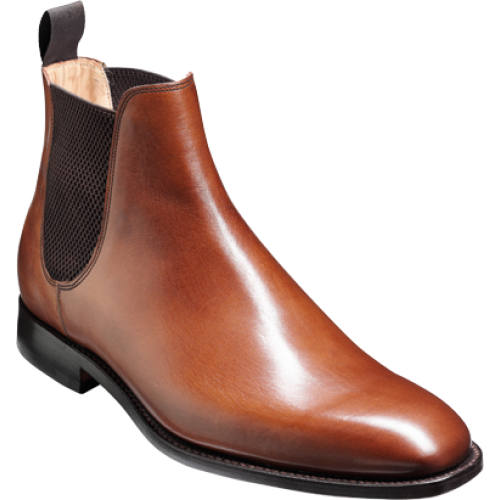 9139bfd0620 Barker Eskdale Chelsea Boot Style Walnut Calf Leather Mens Boots