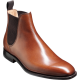 Barker Eskdale Chelsea Boot Style Walnut Calf Leather Mens Boots