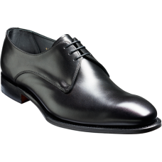 Barker Farthingstone Derby Style Black Calf Mens Shoes (09)