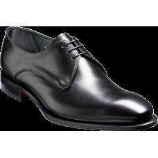 Barker Farthingstone Derby Style Black Calf Mens Shoes (09)