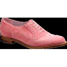 Barker Freya Pink Suede Ladies Shoes