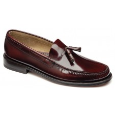 Loake Tassel Moccasin Style Georgetown Oxblood Mens Shoes (11)