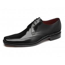 Loake Apron Style Harrison Black Mens Shoes (09)