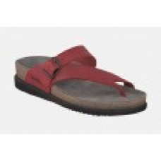 Mephisto Helen Toe Post Style Red Ladies Sandal