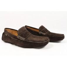 Loake Driving Style Herbert Dark Brown Mens Shoes