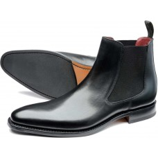 Loake Chelsea Boot Style Hutchinson Black Mens Shoes (11)