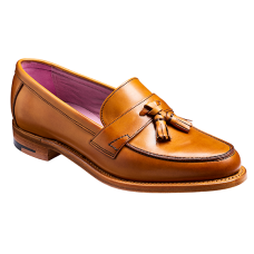 Barker Imogen Slip On Loafer Cedar Calf Ladies Shoe