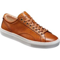 Barker Isla Cedar Calf Leather Ladies Sneaker
