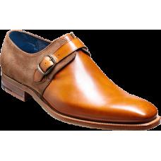 Barker Jasper Monk Strap Cedar Calf/Snuff Calf Mens Shoes (11)