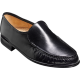 Baker Laurence Mocassin Black Kid Leather Mens Shoes