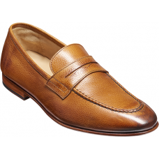 Barker Ledley Apron Loafer Style Cedar Grain Mens Shoes