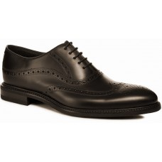 Loake Demon Brogue Longwing Style Dark Brown Mens Shoes (Size 11)
