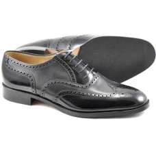 Loake Lowick Mens Black Shoes