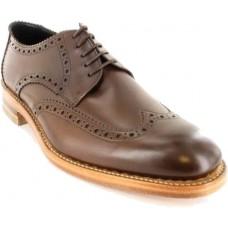 Loake Rankin Dark Brown Derby Mens Shoes (09.5)