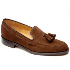 Loake Loafer Style Lincoln Mens Polo Suede Shoe (13)