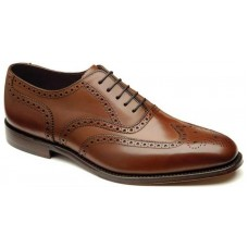 Loake Oxford Style Buckingham Brown Men's Shoes (07)