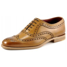 Loake Brogue Style Fearnley Mens Tan Shoes