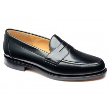 Loake Eton Black Mens Penny Loafer (07)