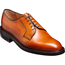 Barker Nairn Derby Style Mens Cedar Grain Shoes (11)