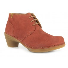 El Naturalista Aqua Pleasant Ladies Rioja Red Boot