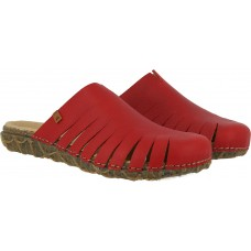 El Naturalista Reeds Soft Grain Tibet Red Sandals