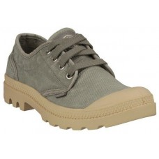 Palladium Pampa Oxford Concrete Putty Mens Canvas Shoes (08)