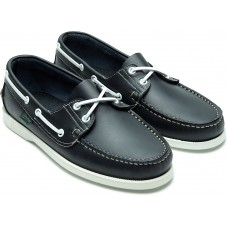 Paraboot Barth/Marine Navy Mens Leather Boat Shoes