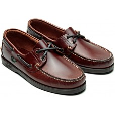 Paraboot Barth Lisse America Mens Leather Boat Shoes