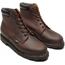 Paraboot Bergerac Nubuck Gringo Brown Men's Leather Boots