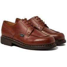 Paraboot Chambord/Tex Lis Marron Mens Leather Lace Up Shoes