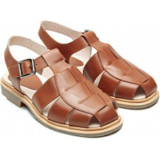 Paraboot Iberis Light Brown (Lis Gold) Leather Ladies' Sandals