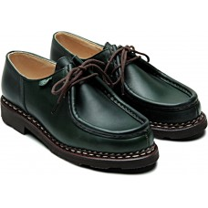 Paraboot Michael Griff Marron Lis Vert Green Womens Shoes