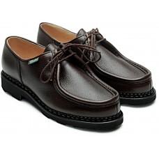 Paraboot Michael Griff Moka Brown Grain Womens Shoes
