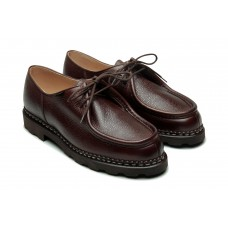 Paraboot Michael Marche Marron Ebene Brown Grain Leather Shoes