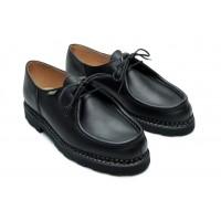 Paraboot Michael Marche Black Leather Shoes