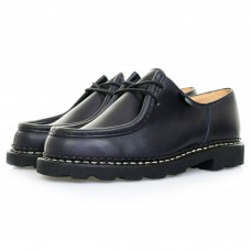 Paraboot Michael Marche Black Leather Shoes