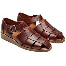 Paraboot Pacific Men's Leather Marron Sandals