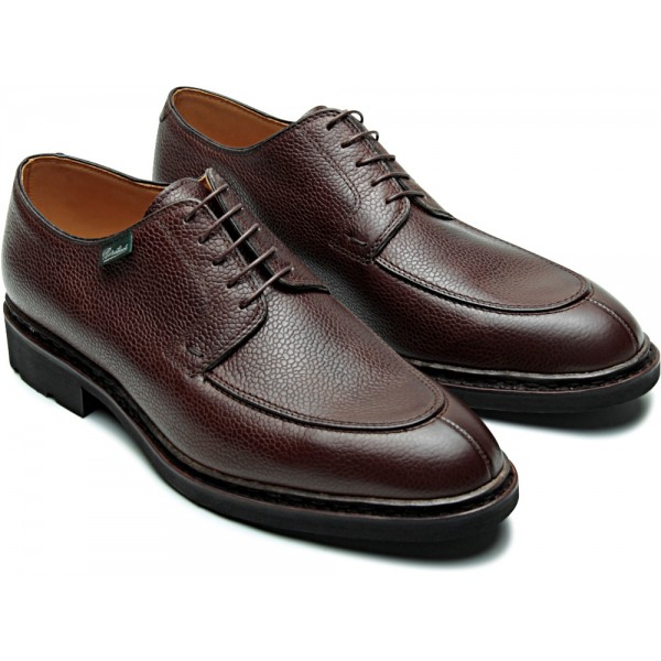 Paraboot Prevert/Galaxy Noire Ebene Brown Grain Mens Shoes