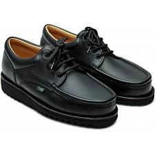 Paraboot Thiers Lisse Noir Black Mens Leather Derby Shoes