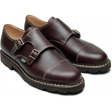 Paraboot William Marche II Lis Cafe Mens Monk Strap Shoes