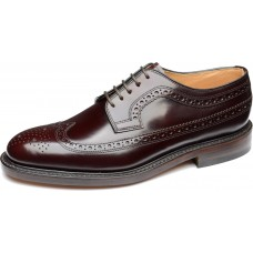 Loake Royal Brogues Style Mens Oxblood Shoes (06½)