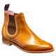 Barker Sabrina Chelsea Boot Style Cedar Calf Womens Leather Boots