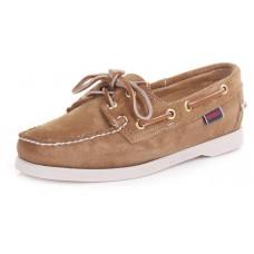Sebago Docksides Ladies Sand Boat Deck Shoes