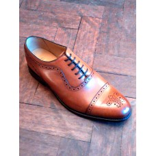 Barker Oxford Brogue Style SHC0026BRN Mens Shoes (10)