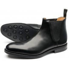 Loake Chelsea Boot Style Ascot Mens Black Shoes